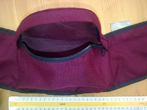 Seat Pocket for Foam Insert