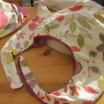 Outer cover for the feeding pillow