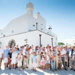 All the guests at the Masseria Della Zingara