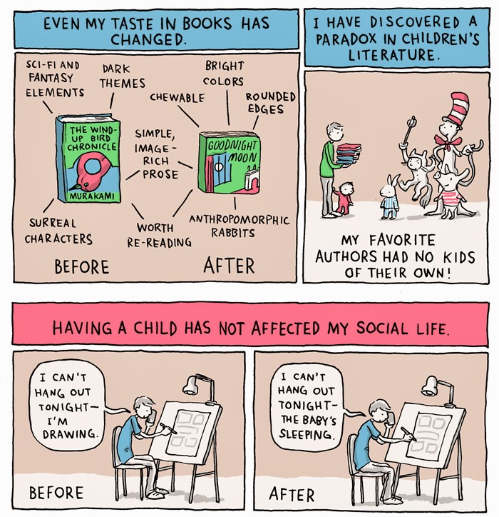 Grant Snider - A Year Of Parenting