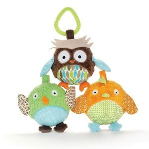 Skip Hop Treetop Friends Owl and Friends Trio Ball