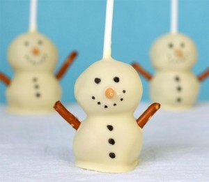 choc snowman