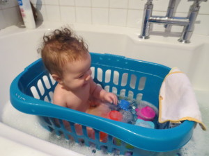 Baby Bath Time Tip