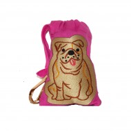 Pink Bull Dog bag - Sewlomax