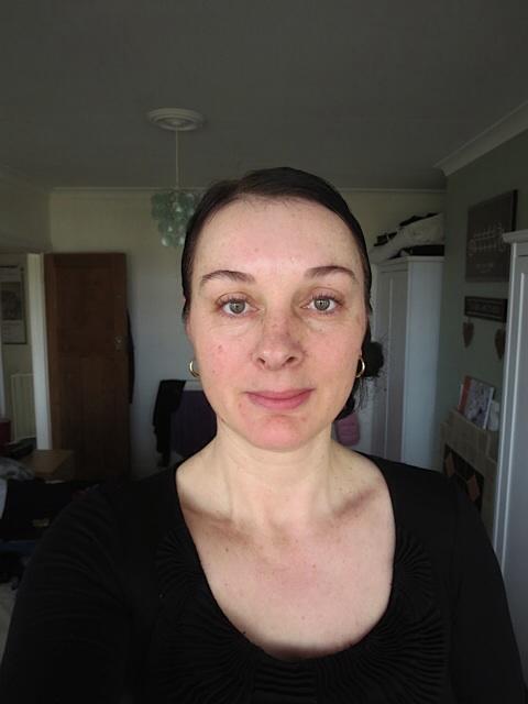 Breast Cancer Awareness no make up selfie
