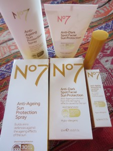 No7 Anti Ageing Sun cream