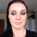 A smoky purple eye with a nude lip.  Using the Eyeshadow Palette No5 Twilight